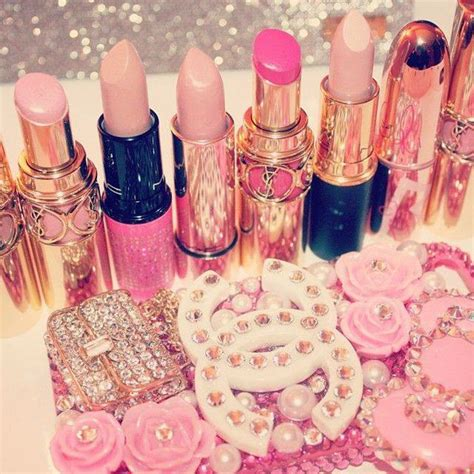 Products To Make You Feel Girly by Pink Lipstick Collection Image 1819708 By Saaabrina On