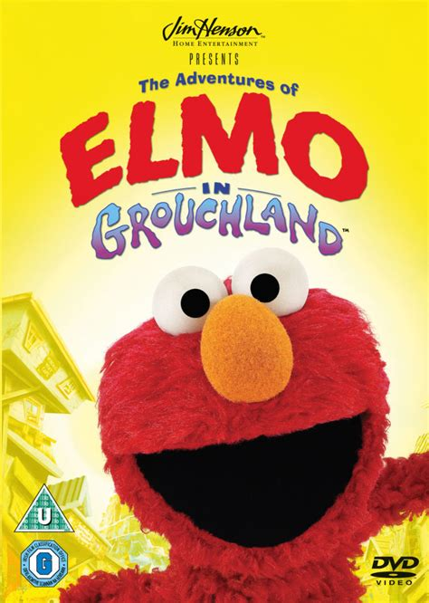 Disney Elmo Available the adventures of elmo in grouchland dvd zavvi