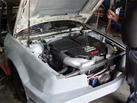 Audi 80 Motorumbau by Audi 80 V8 Biturbo Youtube