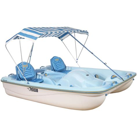 pelican inflatable boats pelican cascade deluxe pedal boat 155254 small craft