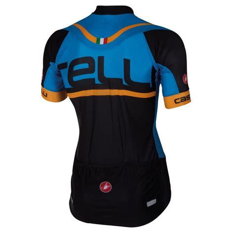 Cycling Cap Castelli Meta Black 2016 c隶stelli meta fz blue black cycling jersey and bib