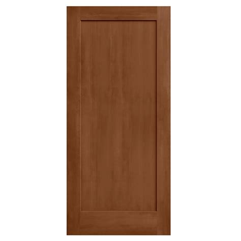jeld wen 36 in x 80 in stained espresso 2 panel solid core composite interior door slab