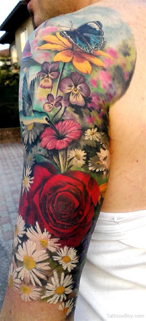 exotic flower tattoos flower tattoos designs pictures page 148