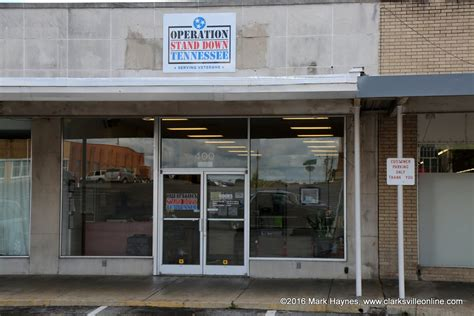 Social Security Office Clarksville Tn by Clarksville S Operation Stand Tennessee Serves