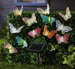 outdoor butterfly lights solar fiber optic butterfly string lights contemporary