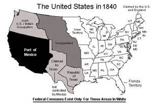 united states map 1840 maps us map 1840