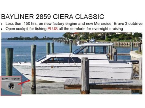 bayliner boats for sale florida bayliner boats for sale in vero beach florida