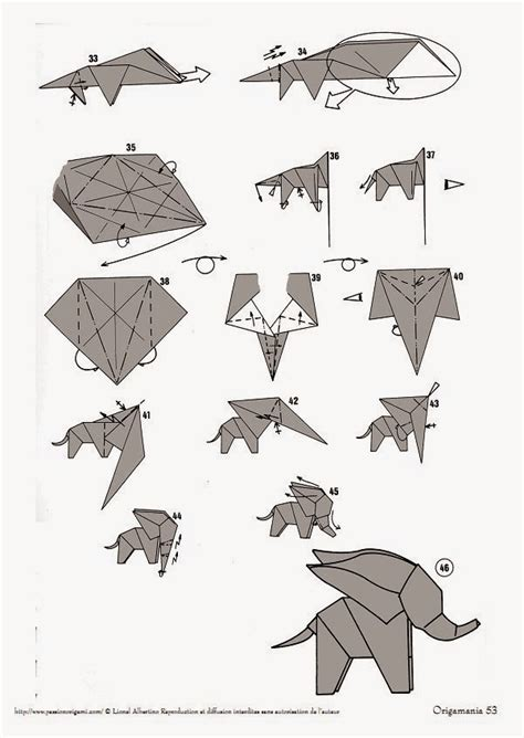 origami elephant step by step money origami easy origami for
