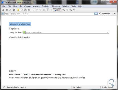tutorial uso wireshark wireshark analizador de red al detalle solvetic