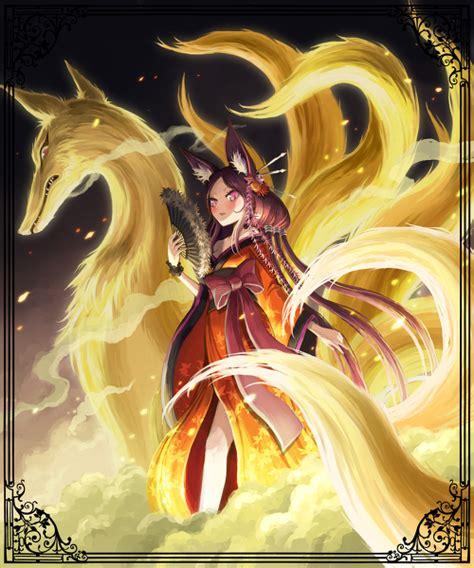 Anime 9 Tailed Fox by Anime Nine Tailed Fox Search Anime