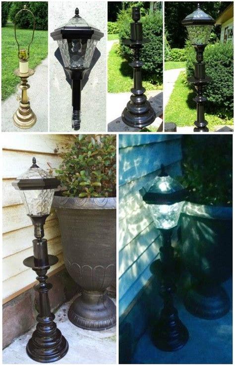 diy solar garden lights 25 best ideas about l post ideas on garden