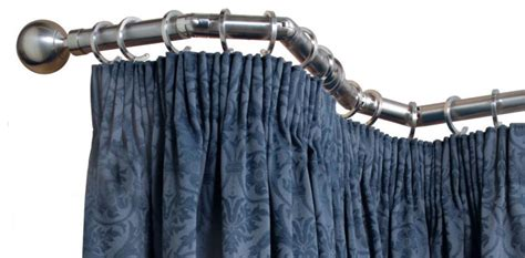 curtain pole choosing bay window curtain poles direct fabrics blog