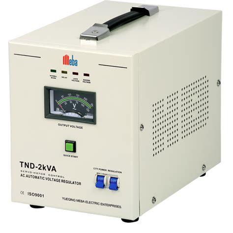 Ac Voltage Stabilizer Meba Ac Voltage Stabilizer Tnd 2kva