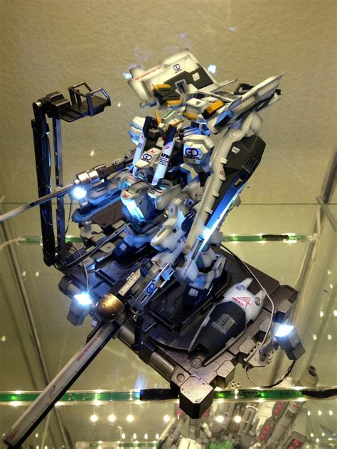 Diorama Gundam Gunpla gunpla diorama hg 1 144 hazel rah gundam base modeled by primarymh photoreview wip no
