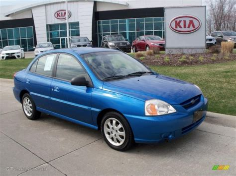 Blue Kia 2005 Rally Blue Kia Sedan 48026098 Gtcarlot