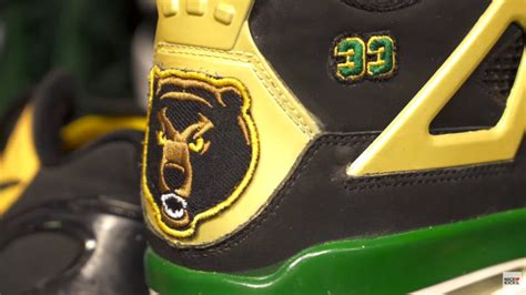 baylor basketball shoes kicks sole access featuring baylor bears complex