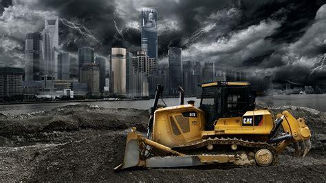 Cat Excavator Wallpaper | 1 caterpillar d7e hd wallpapers backgrounds wallpaper
