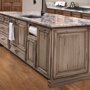 grey distressed kitchen cabinets custom island custom cabinetry gray grey distressed