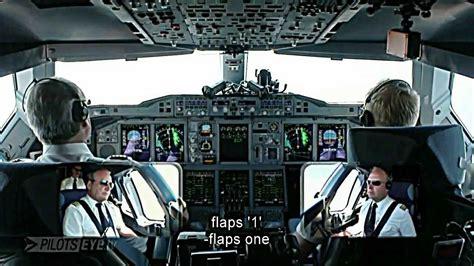 cabina di pilotaggio airbus a380 landing sfo san francisco airport onboard airbus a380 800