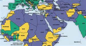 Islamic World Map by Ancient Muslim World Map Galleryhip Com The Hippest