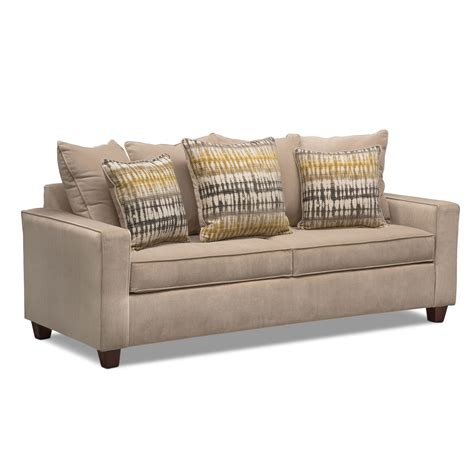 value city sofas on sale bryden sofa beige value city furniture