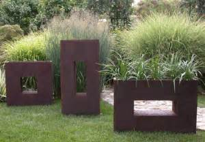 Modern Metal Planters by Large Metal Indoor Planter Box Livemodern Your Best