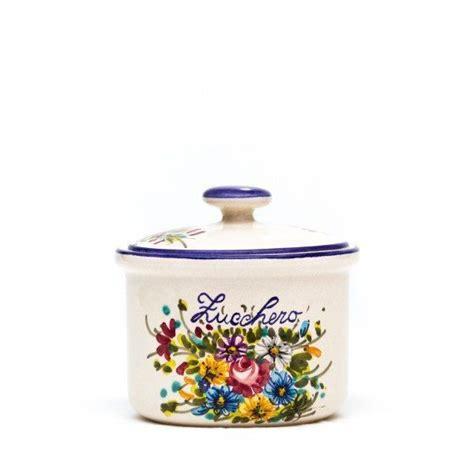 barattoli ceramica per cucina set barattoli in ceramica per cucina fioraccio liberati