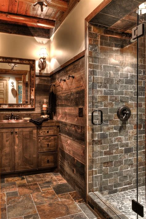 how to get to like rustic country bathroom small