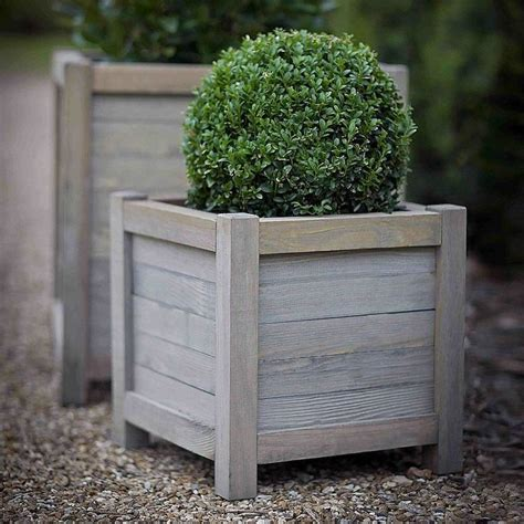 Wooden Planters by Wood Planter