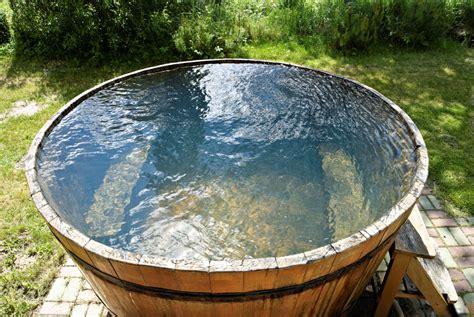 sauna tipps kreativ abk 252 hlen nach der sauna - Tauchbecken Outdoor