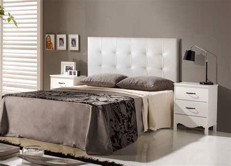 oferta de mueble  dormitorio moderno  dormitorio cabecero polipiel ref hh