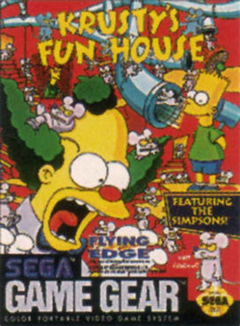 fun house games play krusty s fun house sega game gear online play retro games online at game oldies