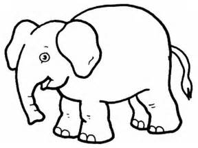 Free Printable Elephant Coloring Pages For Kids sketch template