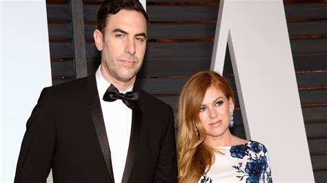 Baby Borat Confirmed by Isla Fisher Sacha Baron Cohen Reportedly Welcome A Third