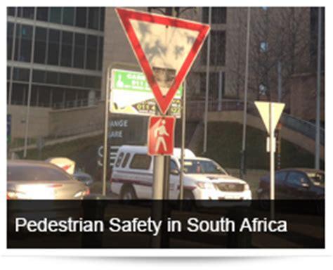 pedestrian safety  south africa