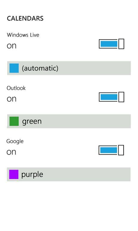 Windows Live Calendar Windows Phone 7 与 Windows Live Calendar Livesino 中文版