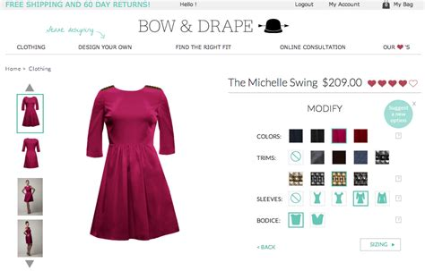 bow and drape bow drape opens custom dressmaking e shop with 32k in