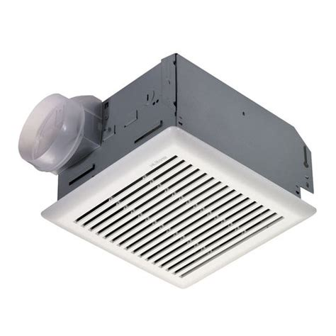 bathroom wall mount exhaust fan bathroom fans nutone 671r series ceiling or wall mount
