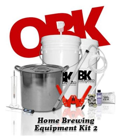 complete starter home brewing equipment kit