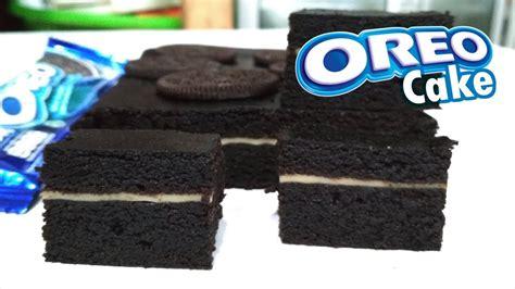 membuat bolu oreo cara membuat kue bolu oreo resep cara membuat oreo cake