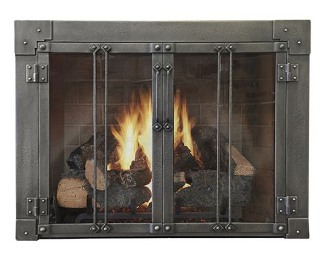 Wood Burning Fireplace Glass Doors Milwaukee Forge Masonry Fireplace Design Specialties