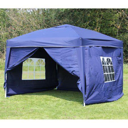 10 X 14 Ez Up Canopy by 10 X 10 Palm Springs Ez Pop Up Blue Canopy Gazebo Tent
