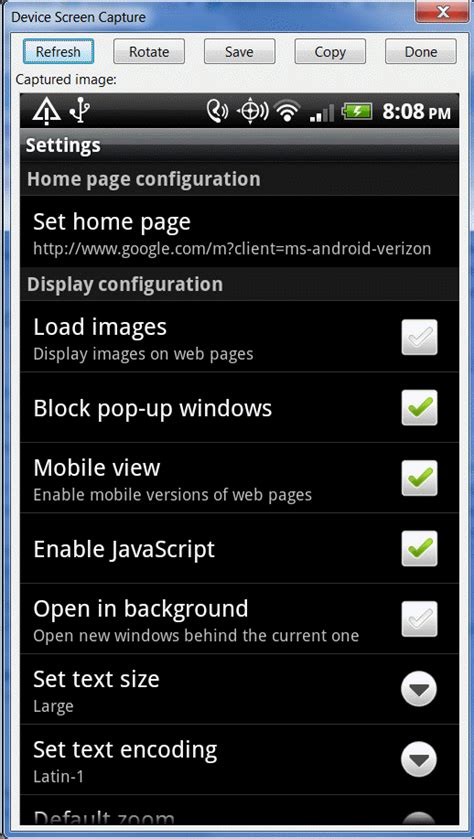 reset android browser homepage how to access internet browser settings on android devices