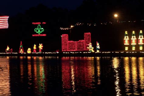 Natchitoches Lights by And So It Goes In Shreveport Take A Trip To Natchitoches