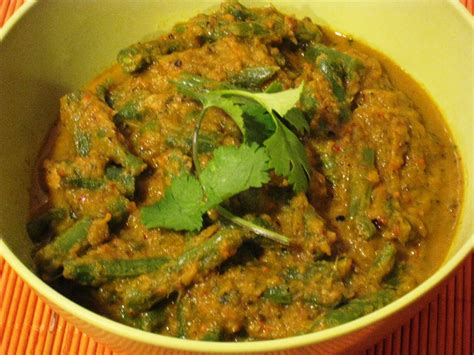green recipe indian green bean curry recipe
