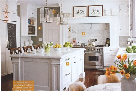 white marble kitchen island christopher peacock s kitchen