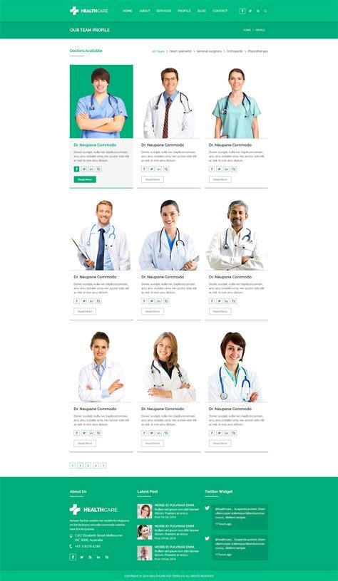 google image age amusement health health care psd template by kamleshyadav themeforest