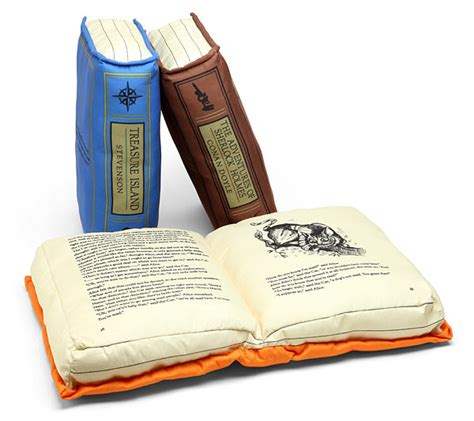 Pillow While by Olde Book Pillow Classics