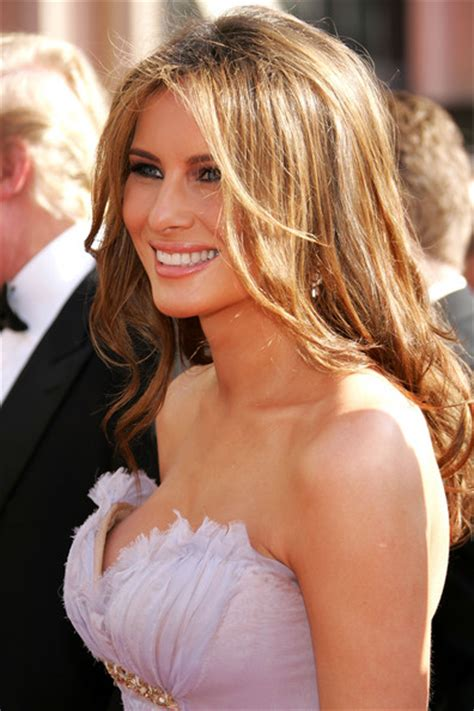 melania trump in 57th annual emmy awards arrivals zimbio