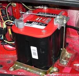 lawn mower battery in miata battery hold options for nb miata turbo forum